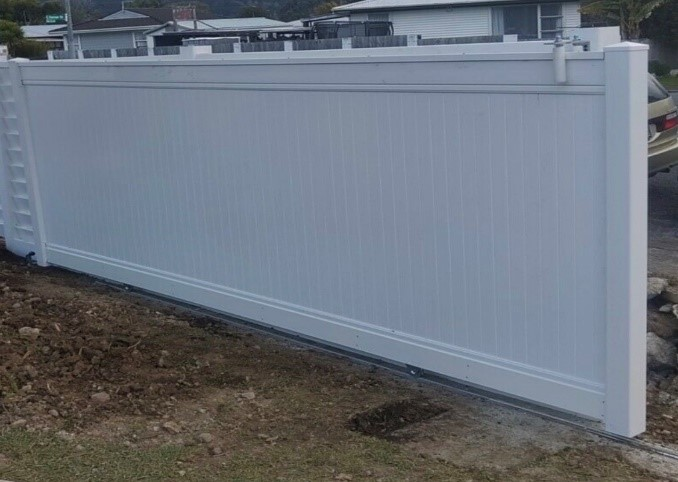 semi privacy fence panels